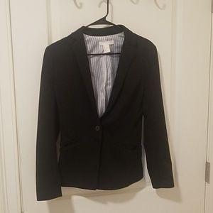 Black simple blazer